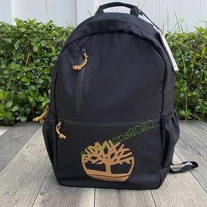Timberland Men's Backpack Black Big Logo